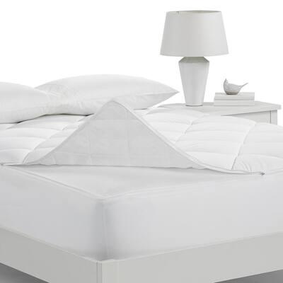 Luxury Soft Comfort California King Mattress Pad in White