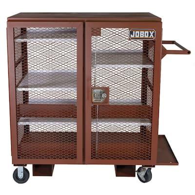 33 in. x 55 in. x 59-1/4 in. Mesh Cabinet