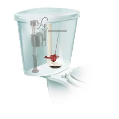 504 2 in. Universal Flexible Frame, Chlorine Resistant Toilet Tank Flapper