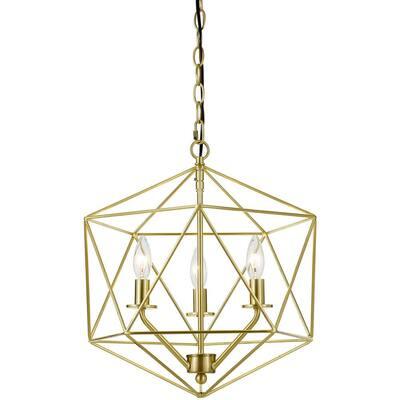 Bellini 3-Light Gold Chandelier