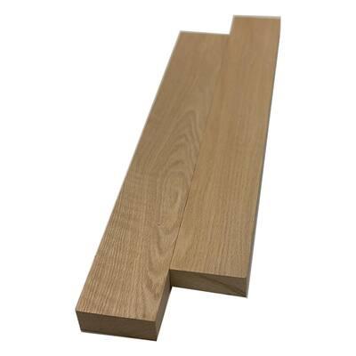 2 in. x 4 in. x 8 ft. Red Oak S4S Board