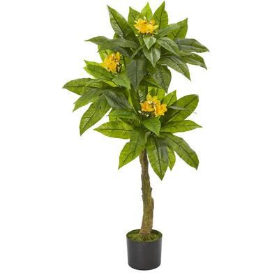 4 ft. Indoor/Outdoor Plumeria Artificial Tree