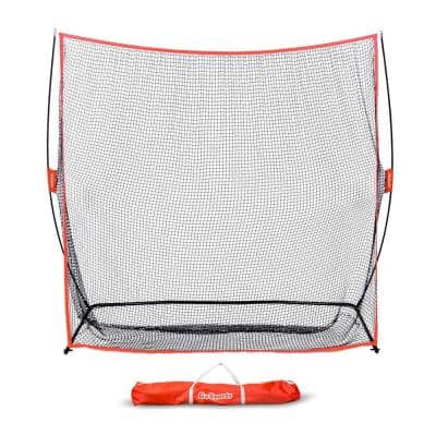 Golf Practice Hitting Net, 7 ft. x 7 ft. Driving Range with Carry Bag
