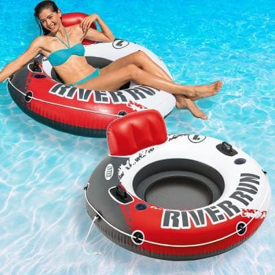 Red River Run 1-Fire Edition Pool Float (2-Pack)