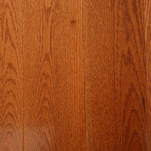 Oak Gunstock 3/4 in. Thick x 5 in. Wide x Varying Length Solid Hardwood Flooring (23.5 sq. ft. / case)