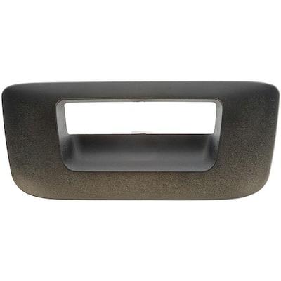 Tailgate Handle Bezel Textured Black
