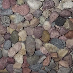 0.50 cu. ft. 40 lb. 1/2 in. Pami Multi-Color Decorative Landscaping Pebble