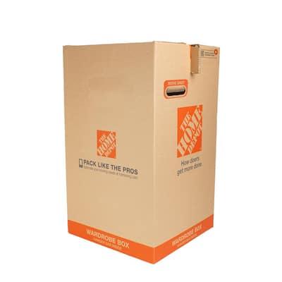 Wardrobe Moving Box 12-Pack (20 in. W x 20 in. L x 34 in. D0