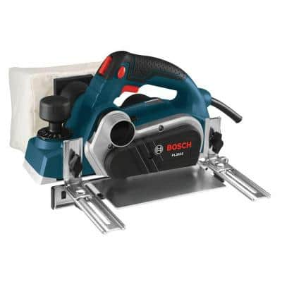6.5 Amp 3-/14 in. Corded Planer Kit with 2 Reversible Woodrazor Micrograin Carbide Blades and Carrying Case