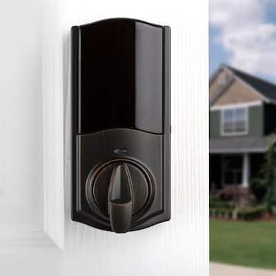 Kevo Convert Smart Lock Venetian Bronze Conversion Kit Featuring Bluetooth Technology