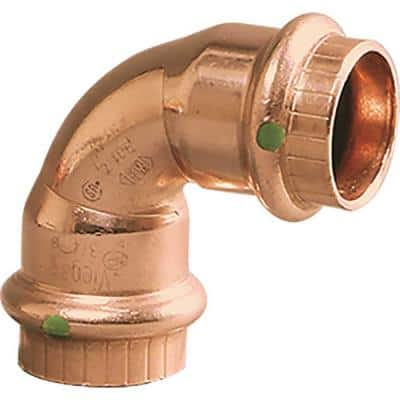 ProPress 1/2 in. Press Copper 90-Degree Elbow Fitting (15-Pack)