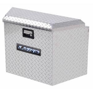 34 in Diamond Plate Aluminum Trailer Tongue Box Truck Tool Box