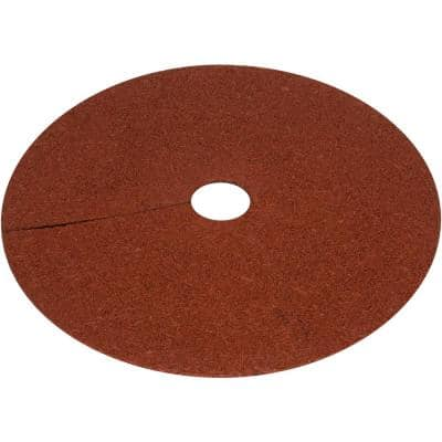 30 in. x 1/2 in. Reversible Composite Mulch Ring Tree Protector Mat