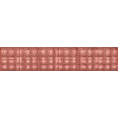 """Work Step 1/2"""" Red-GreaseProof 3 Ft. x 15 Ft. Commercial Floor Mat"""