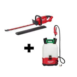 Milwaukee M18 18V Switch Tank Backpack Sprayer and Trimmer Deals