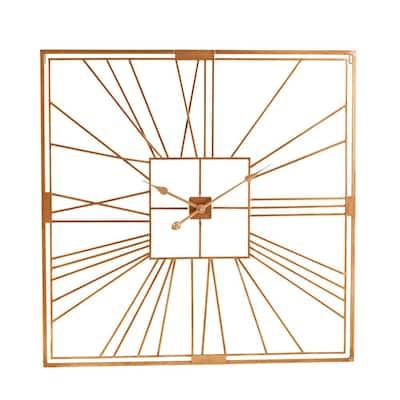 Colston Gold Art Deco Decorative Clock