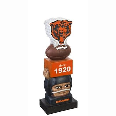 Chicago Bears NFL Vintage Team Garden Statue