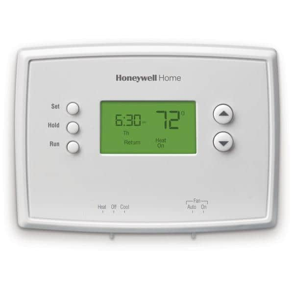 Honeywell Home 5-1-1 Day Programmable Thermostat with Digital Backlit Display