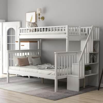 Bunk Beds Kids Bedroom Furniture The Home Depot