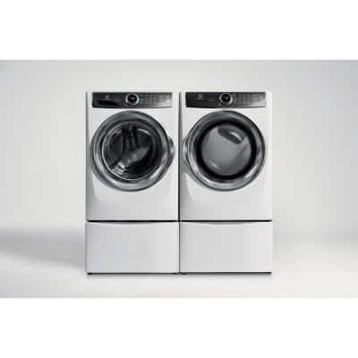 4.4 cu. ft. Front Load Washer with SmartBoost Technology Steam in White, ENERGY STAR