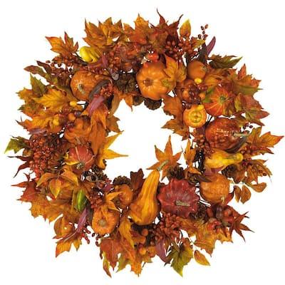 28in. Harvest Wreath