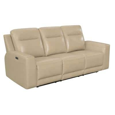 Doncella 86 in. W Sand Power Reclining Sofa
