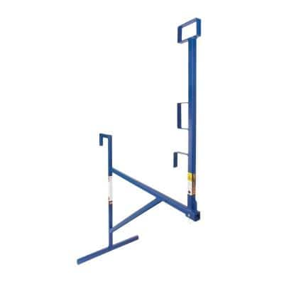 79 in. Steel Wall Bracket to Hang In/Out Stud Wall or Over Beam/Block Wall, Safety Guardrail for Roof or Platform Work