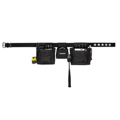 Black Handyman Tool Belt (12-Pocket)
