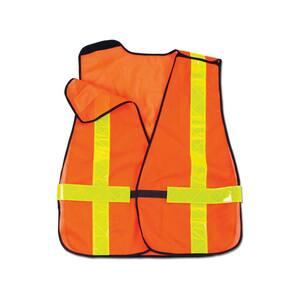 GLoWEAR Orange Hi-Vis Non-Certified X-Back Vest
