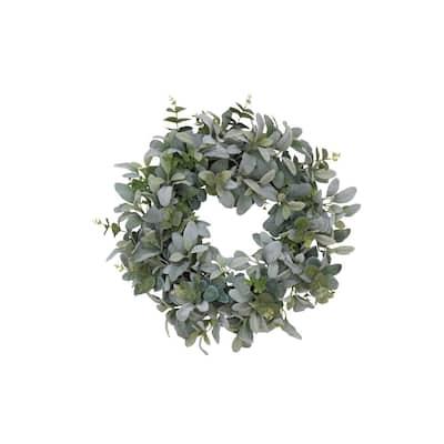 22 in. Lambs Ear Wreath