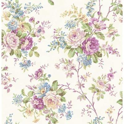Amelia Purple Trail Wallpaper