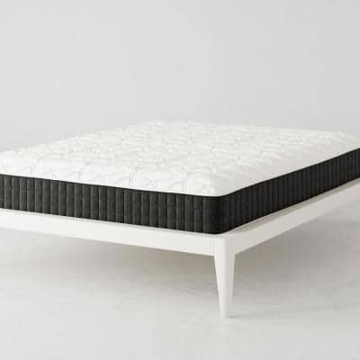 """Contour Comfort 10"""" Medium-Firm Independently Encased Coil Tight-Top Reversible Queen Mattress"""