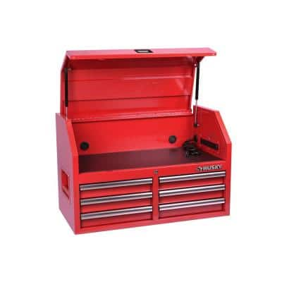 36 in. 6-Drawer Red Top Tool Chest