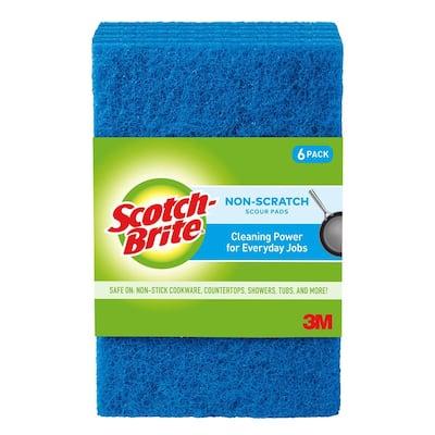 Non-Scratch Scour Pads (6-Pack)