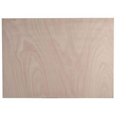 Easthaven Shaker 48x34.5x0.5 in. Island End Panel in Unfinished Beech