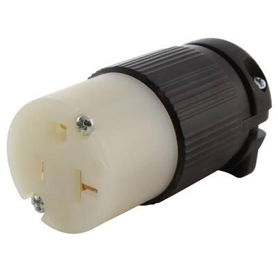 15/ 20 Amp 125-Volt NEMA 5-15/20R 3-Prong Industrial Grade Heavy Duty Household Female Connector