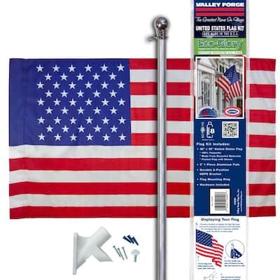 30-in x 50-in EcoGlory U.S. Flag Kit