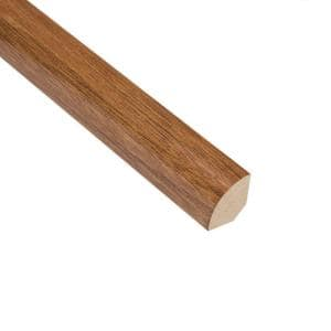 Natural Acacia 3/4 in. Thick x 3/4 in. Wide x 94 in. Length Quarter Round Molding