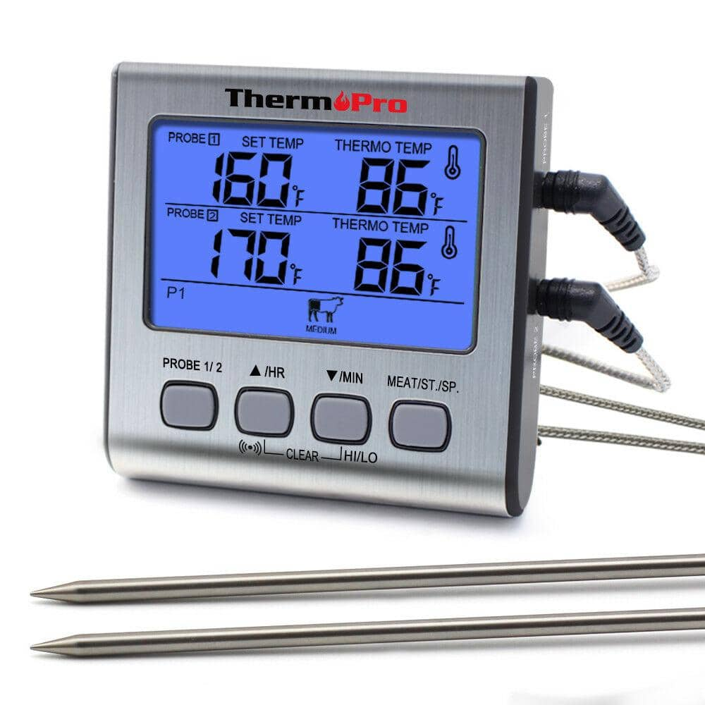 Meat Thermometer Stainless Steel  Classic Oven Food Meat Temperature Gauge Tools