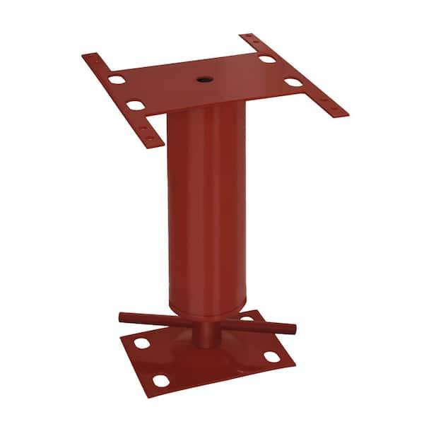 Basement Floor Jack Steel Floor Beam Bar Leveler Stabilizer 12-16in Height Range