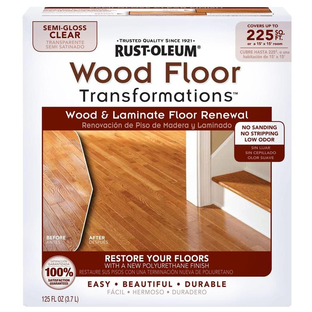 Rust Oleum Transformations Floor Wood