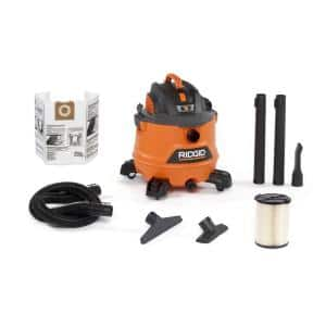 14 Gallon 6.0-Peak HP NXT Wet/Dry Shop Vacuum with Fine Dust Filter, Hose and Accessories