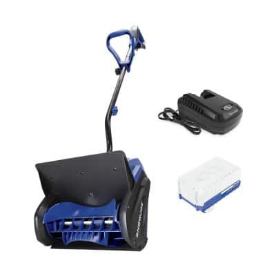 13 in. 24-Volt Cordless Snow Shovel Kit with 4.0 Ah Battery Plus Charger