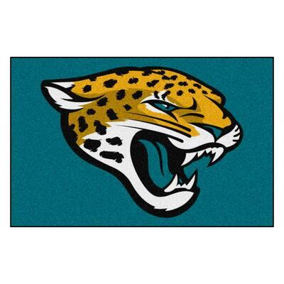 NFL - Jacksonville Jaguars Rug - 19in. x 30in.