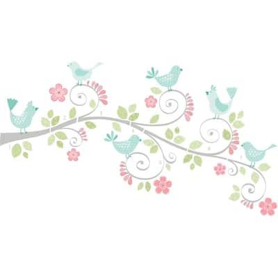 Multicolor Pretty Tweet Wall Art Kit