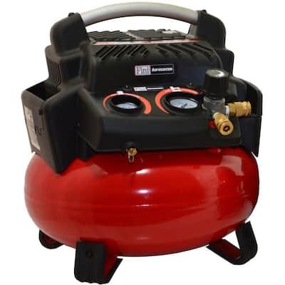 1.5 HP 6 Gal. 150 PSI Portable Electric Pancake Air Compressor