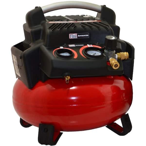 Fini Six Gallon Electric Pancake Air Compressor