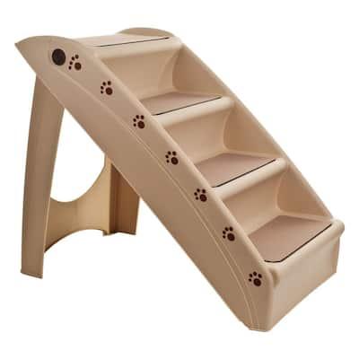 Folding Plastic Pet Stairs