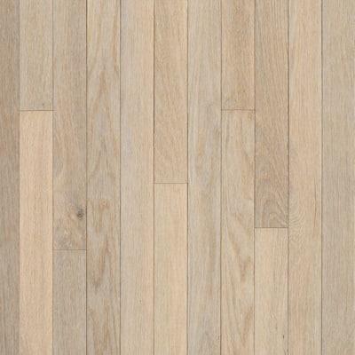 American Originals Sugar White Oak 3/4 in. T x 5 in. W x Varying L Solid Hardwood Flooring (23.5 sq. ft. /case)