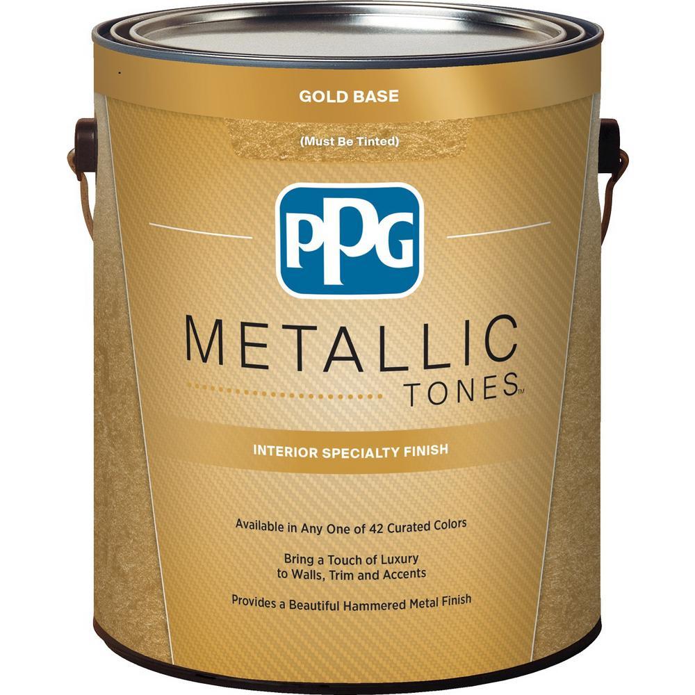 1 gal. Gold Metallic Interior Specialty Finish